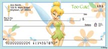 Tinker Bell Magic Personal Bank Checks