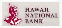 Hawaii National Bank Checks